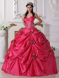 Hot Pink Spaghetti Straps Dress for Quince