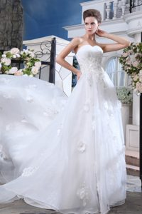 2013 Discount Sweetheart Appliqued Lace-up Wedding Bridal Gown under 250