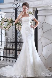 Popular Zipper-up White Lace Summer Wedding Reception Dresses under 250