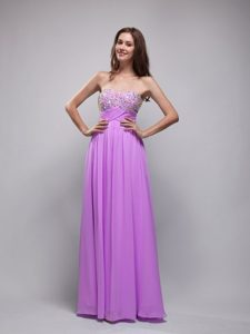 Strapless Ruched and Beaded Zipper-up 2013 Sweet Military Dress for Prom