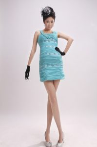 Gorgeous Mini-length Ruched Chiffon Prom Cocktail Dress Best Seller Nowadays