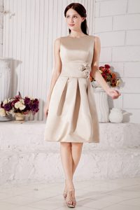 Scoop Champagne Beauty Bridesmaid Dress