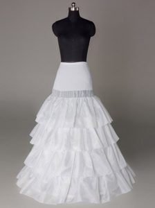 Four Layers Hot Selling Taffeta Floor-length Wedding Petticoat