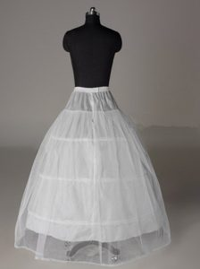 Two Layers Ball Gown Floor-length Wedding Petticoat