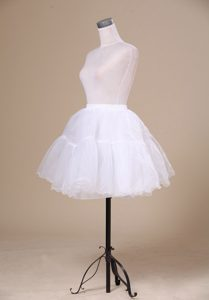 2013 New Arrival White Mini-length Petticoat