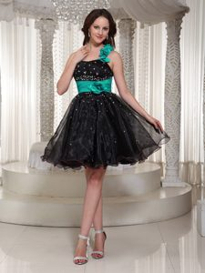 Beaded Organza A-line Prom Dress for Summer