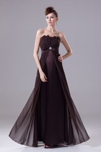 Brand New Strapless Long Prom Holiday Dress with Beading for Cheap