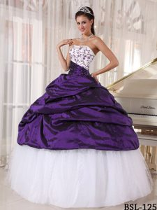 Pick Ups Strapless Embroidery Cheap Dresses 15 Made by and Tulle