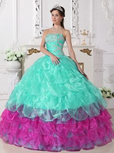 Discount Short Popular Puffy Quinceanera Gowns - EEFashion 2017