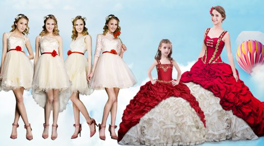 Superior Straps Sleeveless Quinceanera Dresses With Brush Train Beading and Ruffles and Pick Ups White And Red Organza a