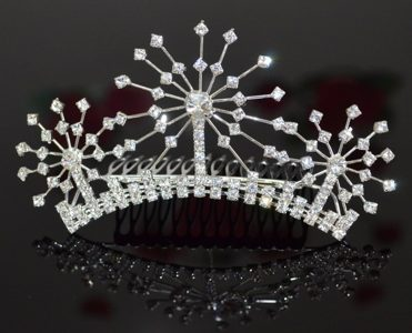 Simple Alloy With Rhinestone Tiara