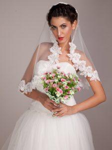 Elegant Pink/ White Round Wedding Bridal Bouquet
