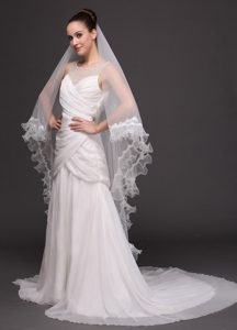 Two-tier Organza Bridal Veil On Sale