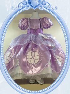 Lavender Zipper Scoop Beading Flower Girl Dresses Organza Short Sleeves