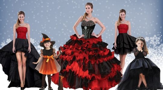 Red And Black Ball Gowns Satin and Organza Sweetheart Sleeveless Beading and Ruffled Layers Floor Length Lace Up Sweet 1